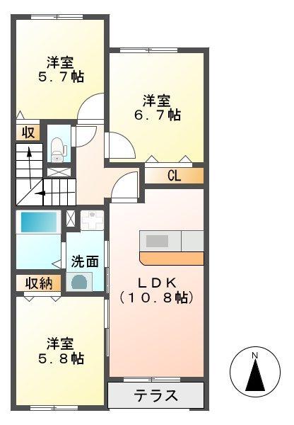 「アドバンスⅠ 宮崎市間取り」の画像検索結果